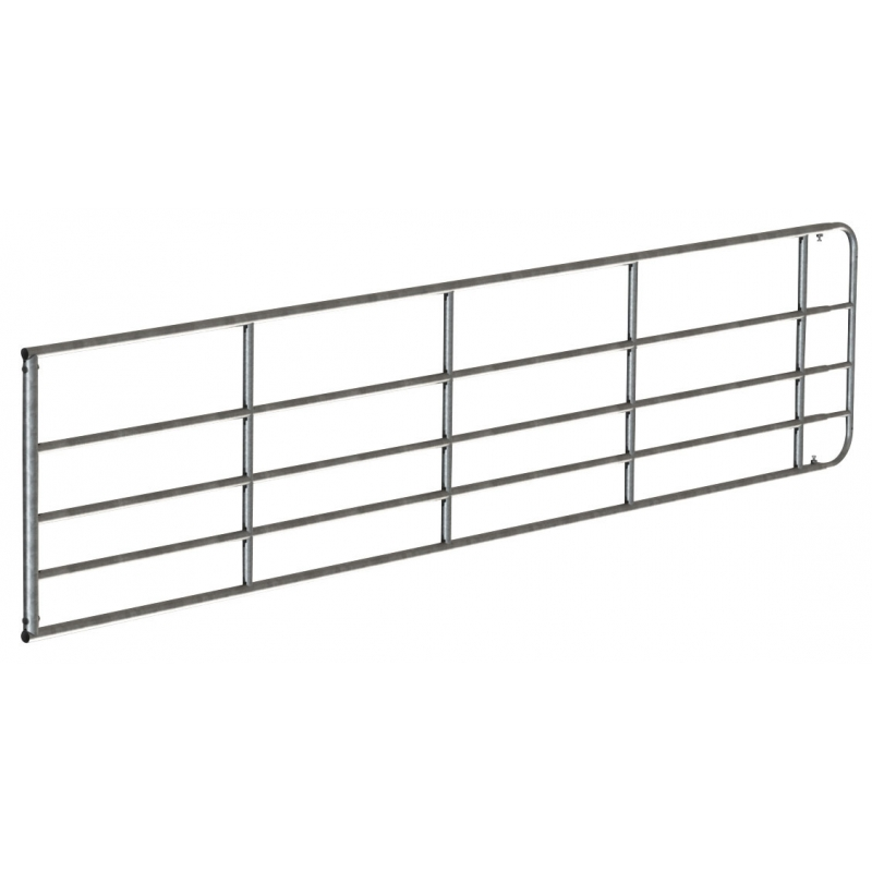 Fence gate 4-5 m, adjustable, height: 90 cm, galvanized - 442902