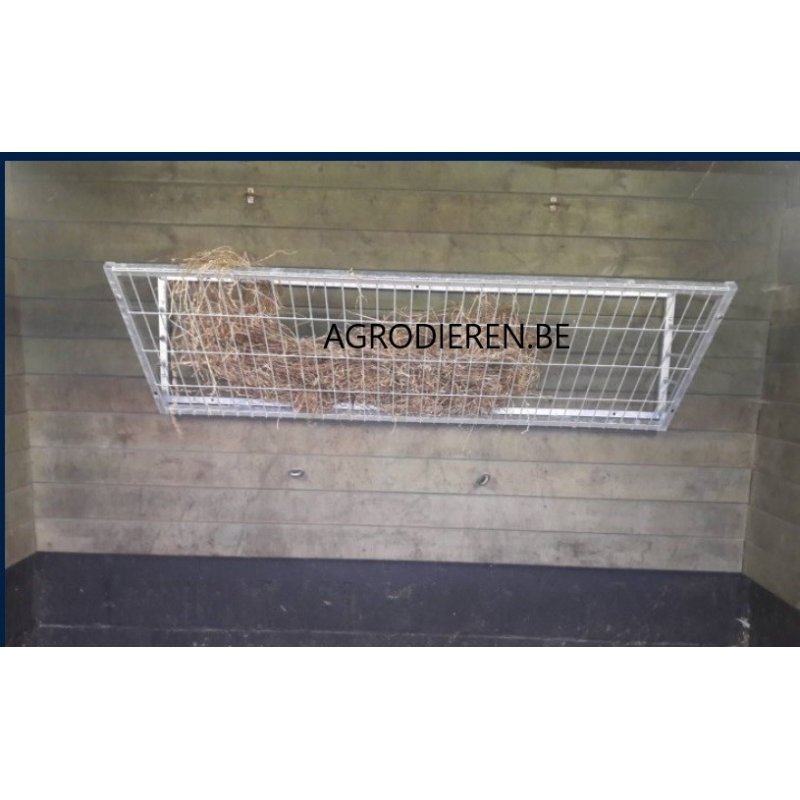 Hay rack metal 185 CM with extra strong mesh - AR-185GZ